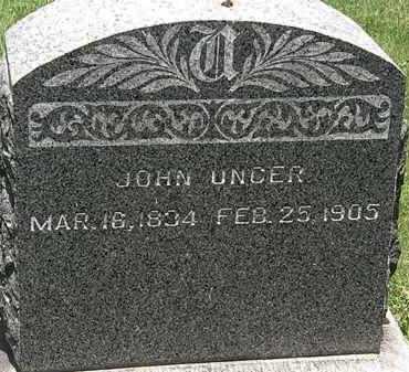 UNGER, JOHN - Lorain County, Ohio | JOHN UNGER - Ohio Gravestone Photos