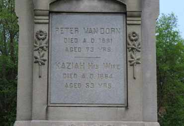 VAN DORN, PETER - Lorain County, Ohio | PETER VAN DORN - Ohio Gravestone Photos