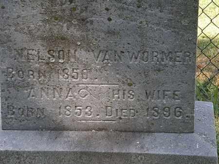 VAN WORMER, ANNA - Lorain County, Ohio | ANNA VAN WORMER - Ohio Gravestone Photos