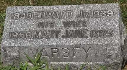 VARSEY, MARY JANE - Lorain County, Ohio | MARY JANE VARSEY - Ohio Gravestone Photos
