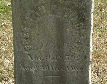 VINCENT, FREEMAN H. - Lorain County, Ohio | FREEMAN H. VINCENT - Ohio Gravestone Photos