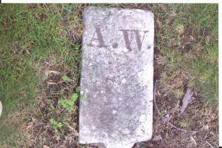 W., A. - Lorain County, Ohio | A. W. - Ohio Gravestone Photos