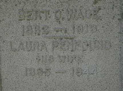 PENFOUND WADE, LAURA - Lorain County, Ohio | LAURA PENFOUND WADE - Ohio Gravestone Photos