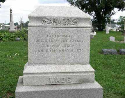 WADE, LYDIA - Lorain County, Ohio | LYDIA WADE - Ohio Gravestone Photos