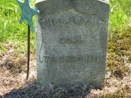 WAIT, THOS. A. - Lorain County, Ohio | THOS. A. WAIT - Ohio Gravestone Photos