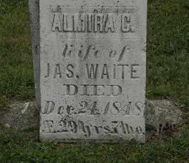 WAITE, ALMIRA C. - Lorain County, Ohio | ALMIRA C. WAITE - Ohio Gravestone Photos