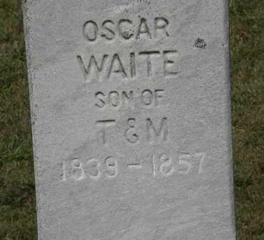 WAITE, OSCAR - Lorain County, Ohio | OSCAR WAITE - Ohio Gravestone Photos
