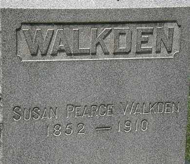 WALKDEN, SUSAN - Lorain County, Ohio | SUSAN WALKDEN - Ohio Gravestone Photos