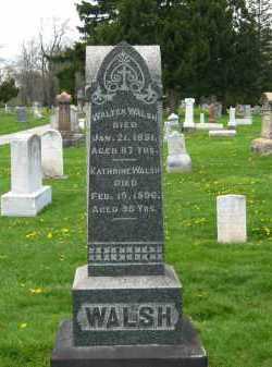 WALSH, WALTER - Lorain County, Ohio   WALTER WALSH - Ohio Gravestone Photos