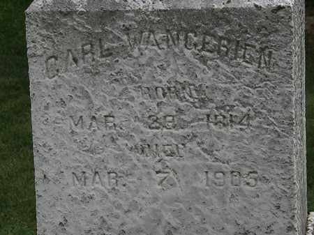WANGERIEN, CARL - Lorain County, Ohio | CARL WANGERIEN - Ohio Gravestone Photos