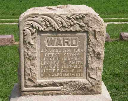 SMITH WARD, LUCINDA C. - Lorain County, Ohio | LUCINDA C. SMITH WARD - Ohio Gravestone Photos