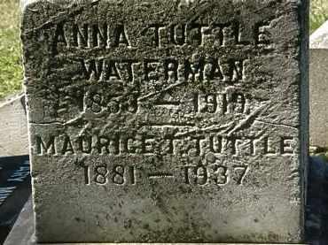 WATERMAN, ANNA - Lorain County, Ohio   ANNA WATERMAN - Ohio Gravestone Photos