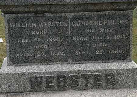 WEBSTER, CATHARINE - Lorain County, Ohio | CATHARINE WEBSTER - Ohio Gravestone Photos