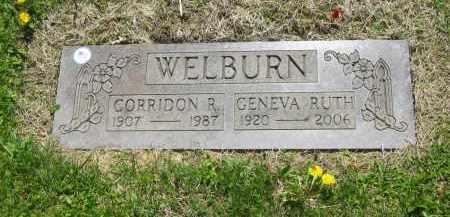 WELBURN, GENEVA RUTH - Lorain County, Ohio   GENEVA RUTH WELBURN - Ohio Gravestone Photos