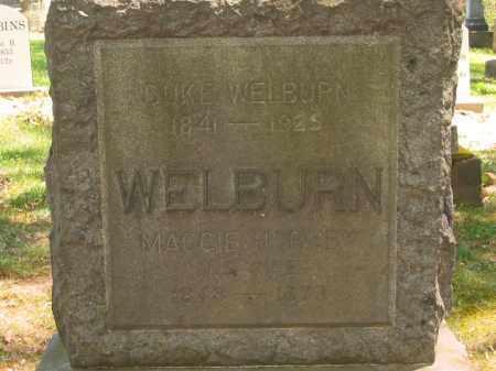 WELBURN, MAGGIE - Lorain County, Ohio | MAGGIE WELBURN - Ohio Gravestone Photos