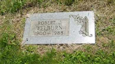 WELBURN, ROBERT J. - Lorain County, Ohio   ROBERT J. WELBURN - Ohio Gravestone Photos