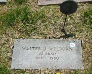 WELBURN, WALTER J. - Lorain County, Ohio | WALTER J. WELBURN - Ohio Gravestone Photos