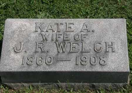 WELCH, KATE A. - Lorain County, Ohio | KATE A. WELCH - Ohio Gravestone Photos