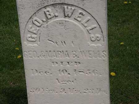 WELLS, GEO. B. - Lorain County, Ohio | GEO. B. WELLS - Ohio Gravestone Photos