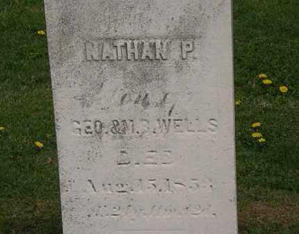 WELLS, NATHAN P. - Lorain County, Ohio   NATHAN P. WELLS - Ohio Gravestone Photos