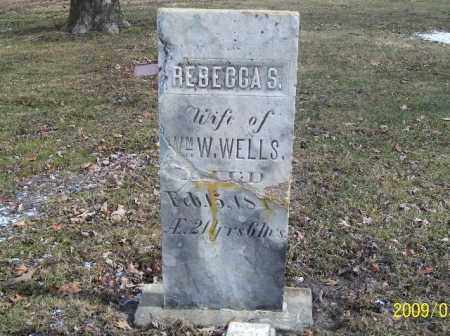 WELLS, REBECCA - Lorain County, Ohio | REBECCA WELLS - Ohio Gravestone Photos