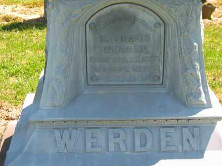 WERDEN, R. TRAVIS - Lorain County, Ohio | R. TRAVIS WERDEN - Ohio Gravestone Photos