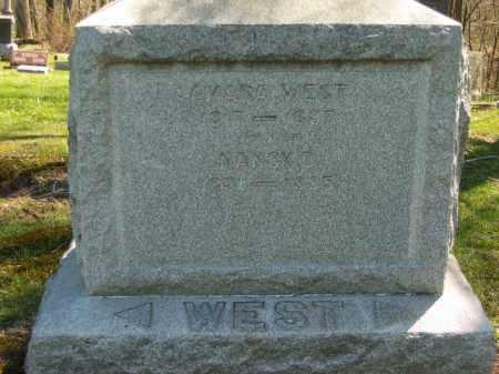 WEST, AMASA - Lorain County, Ohio | AMASA WEST - Ohio Gravestone Photos