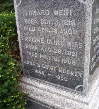 WEST, EDWARD - Lorain County, Ohio | EDWARD WEST - Ohio Gravestone Photos