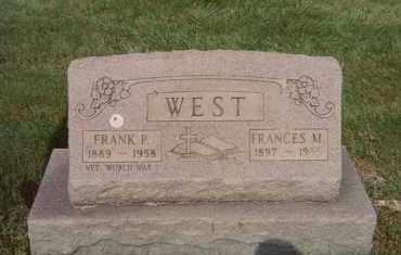 WEST, FRANCES M. - Lorain County, Ohio | FRANCES M. WEST - Ohio Gravestone Photos