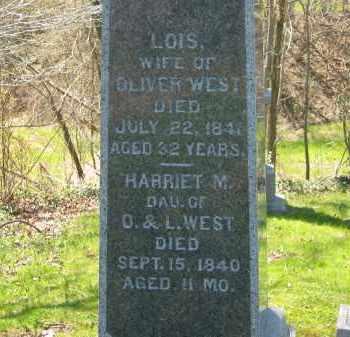 WEST, HARRIET M. - Lorain County, Ohio | HARRIET M. WEST - Ohio Gravestone Photos