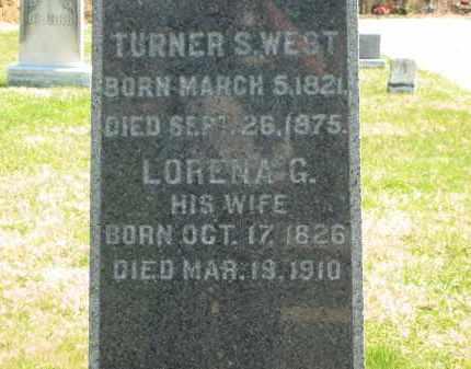 WEST, LORENA G. - Lorain County, Ohio | LORENA G. WEST - Ohio Gravestone Photos