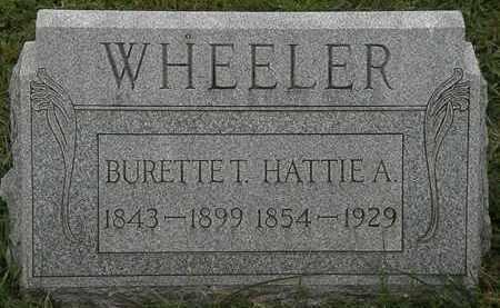 WHEELER, HATTIE A. - Lorain County, Ohio | HATTIE A. WHEELER - Ohio Gravestone Photos