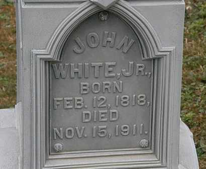 WHITE, JOHN JR. - Lorain County, Ohio   JOHN JR. WHITE - Ohio Gravestone Photos