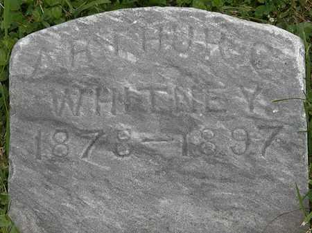 WHITNEY, ARTHUR C. - Lorain County, Ohio | ARTHUR C. WHITNEY - Ohio Gravestone Photos