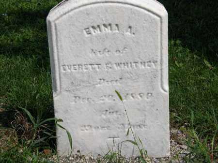 WHITNEY, EMMA A. - Lorain County, Ohio | EMMA A. WHITNEY - Ohio Gravestone Photos
