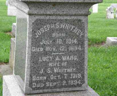 WHITNEY, LUCY A. - Lorain County, Ohio | LUCY A. WHITNEY - Ohio Gravestone Photos