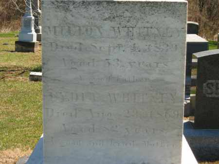 WHITNEY, MILTON - Lorain County, Ohio | MILTON WHITNEY - Ohio Gravestone Photos
