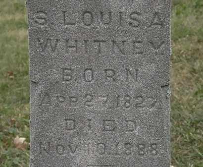 WHITNEY, S. LOUISA - Lorain County, Ohio | S. LOUISA WHITNEY - Ohio Gravestone Photos