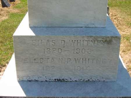 WHITNEY, SILAS - Lorain County, Ohio   SILAS WHITNEY - Ohio Gravestone Photos