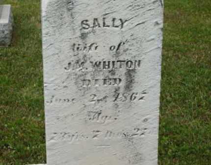 WHITON, SALLY - Lorain County, Ohio | SALLY WHITON - Ohio Gravestone Photos