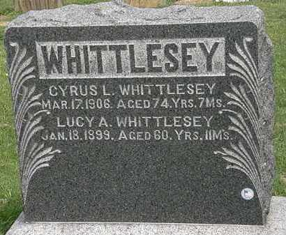 WHITTLESEY, CYRUS L. - Lorain County, Ohio | CYRUS L. WHITTLESEY - Ohio Gravestone Photos