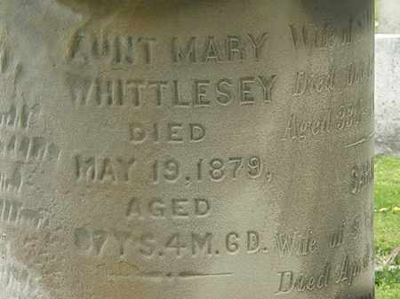 WHITTLESEY, MARY - Lorain County, Ohio | MARY WHITTLESEY - Ohio Gravestone Photos