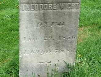 WIGHT, THEODORE - Lorain County, Ohio | THEODORE WIGHT - Ohio Gravestone Photos