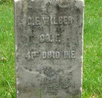 WILBUR, B. F. - Lorain County, Ohio | B. F. WILBUR - Ohio Gravestone Photos