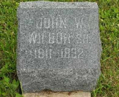 WILBUR, JOHN W. SR. - Lorain County, Ohio   JOHN W. SR. WILBUR - Ohio Gravestone Photos