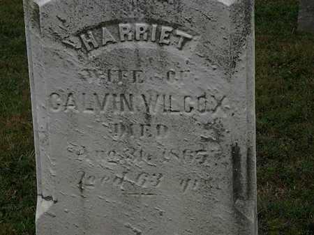WILCOX, HARRIET - Lorain County, Ohio | HARRIET WILCOX - Ohio Gravestone Photos