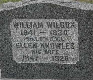 KNOWLES WILCOX, ELLEN - Lorain County, Ohio | ELLEN KNOWLES WILCOX - Ohio Gravestone Photos