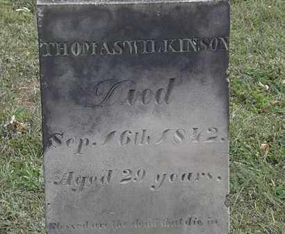 WILKINSON, THOMAS - Lorain County, Ohio   THOMAS WILKINSON - Ohio Gravestone Photos