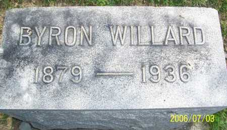 WILLARD, BYRON - Lorain County, Ohio | BYRON WILLARD - Ohio Gravestone Photos