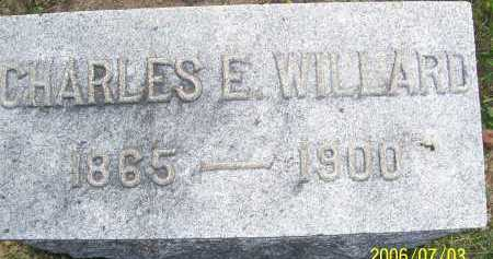 WILLARD, CHARLES E. - Lorain County, Ohio | CHARLES E. WILLARD - Ohio Gravestone Photos